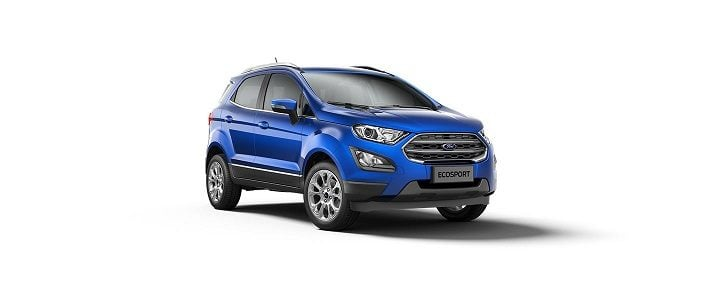 Upcoming SUV cars Under 15 Lakhs - Ford EcoSport