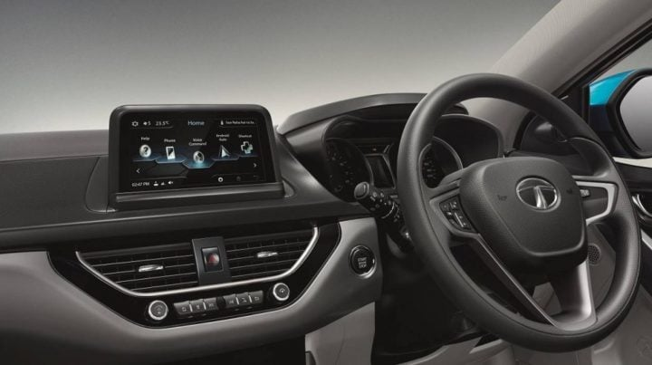 Tata Nexon Dashboard Touchscreen