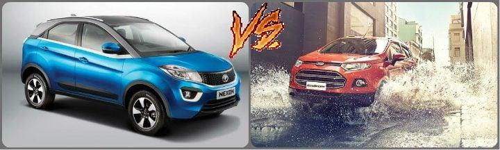 tata Nexon vs Ford EcoSport Comparison
