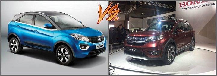 Tata Nexon vs Honda BRV