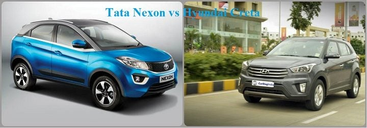 Tata Nexon vs Hyundai Creta
