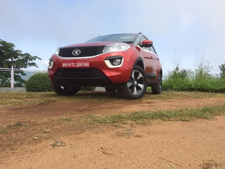 tata cars at auto expo 2018 - Tata Nexon AMT launch