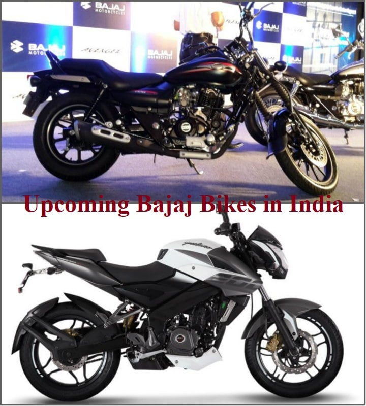 Upcoming Bajaj Bikes in India with Price, Specifications, Launch Date