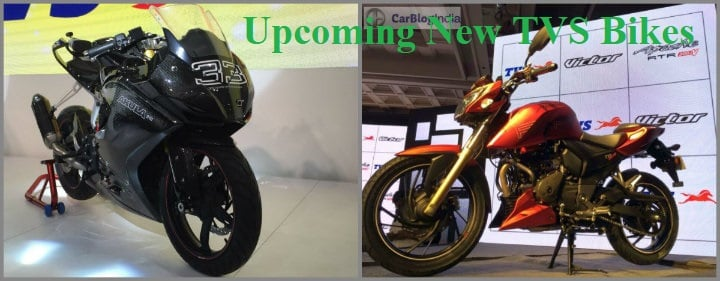 Upcoming New TVS Bikes in India