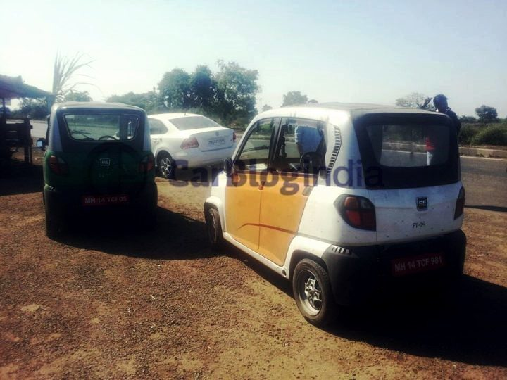 bajaj small car