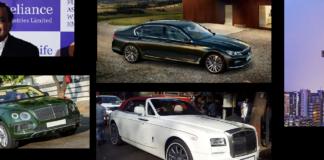 cars of ambani