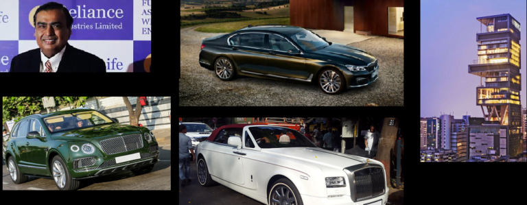 Check out the Best Cars of the Ambani Family