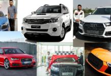 cars of virat kohli