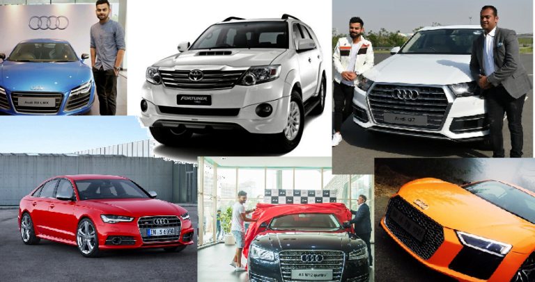 Check Out Cars Of Virat Kohli – Price, Images, Specs And Features