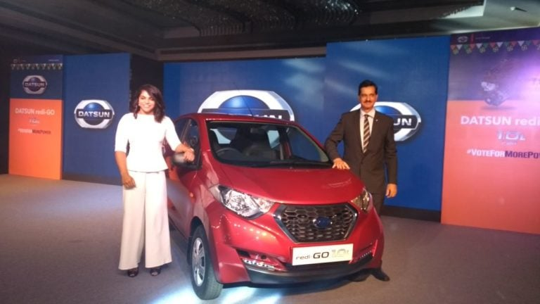 Datsun Redi GO 1000cc Variants Launched. Prices Start at ₹ 3.57 Lakh