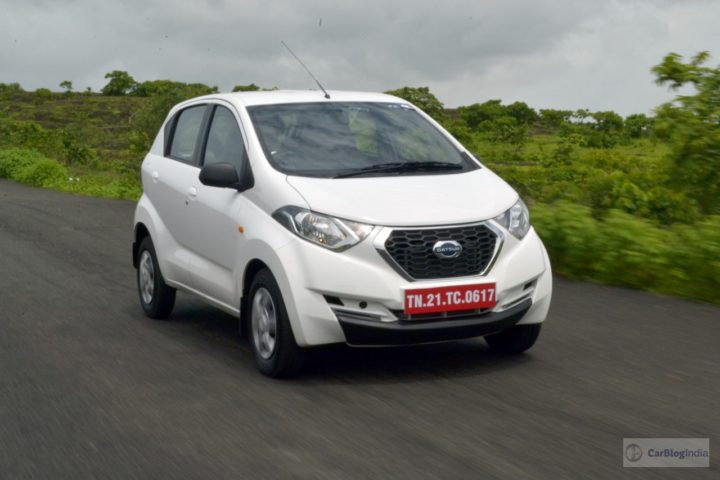 datsun redi go 1000cc test drive review images action