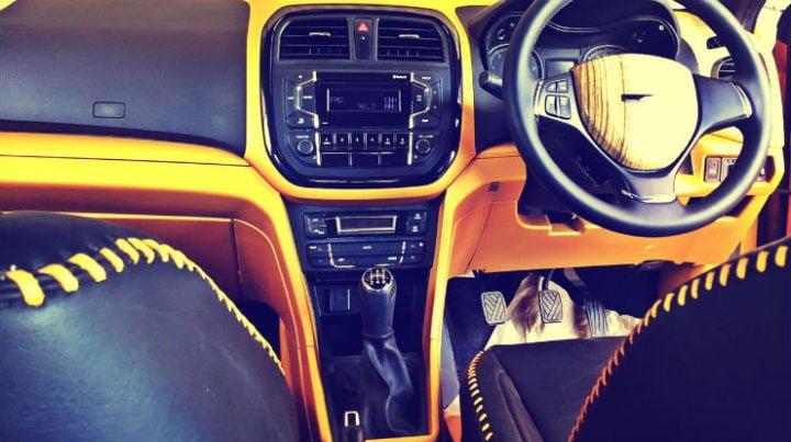 dc modified maruti vitara brezza images interior