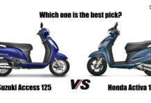 honda activa 125 vs suzuki access 125 comparison (1)