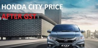 honda city price after gst images