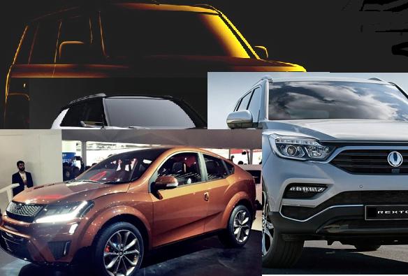 mahindra cars at auto expo 2018 images