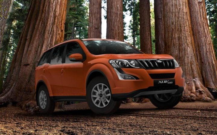 Upcoming SUV cars Under 15 Lakhs - Mahindra XUV500