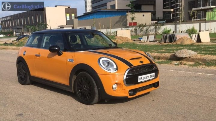 mini cooper s jcw test drive review images action