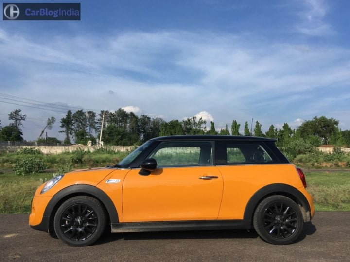 mini cooper s jcw test drive review images side profile