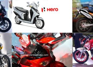 new hero bikes at auto expo 2018