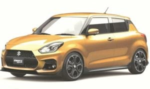 new maruti swift sport images side