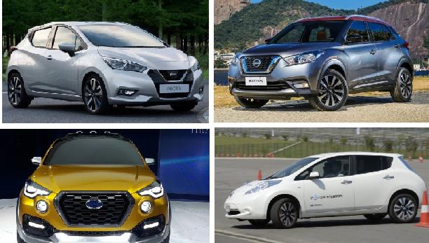 nissan cars at auto expo 2018