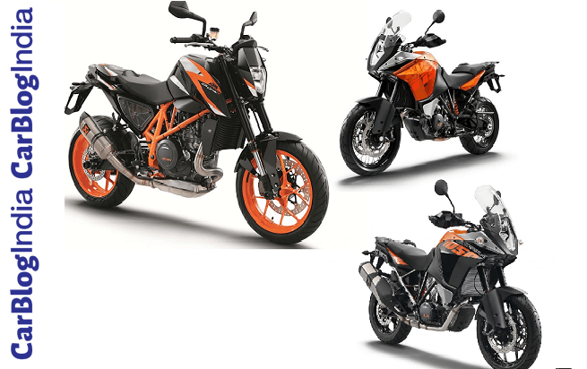 upcoming new ktm bikes at auto expo 2018