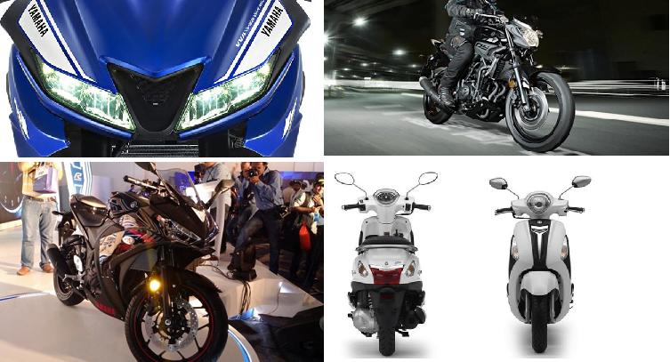 New Yamaha Bikes at Auto Expo 2018
