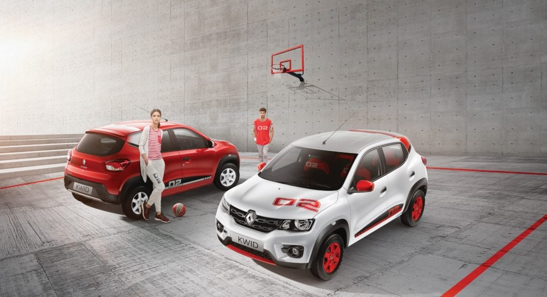 017 renault kwid anniversary special edition