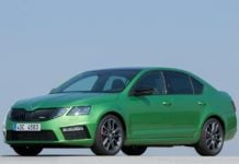 2017 skoda octavia rs india images front angle