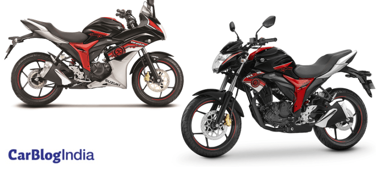 2017 Suzuki Gixxer SP and Gixxer SF SP Special Edition Launched