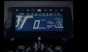 Honda 150SS Racer India Images digital speedo console