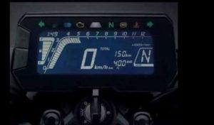 Honda 150SS Racer India Images digital speedo console