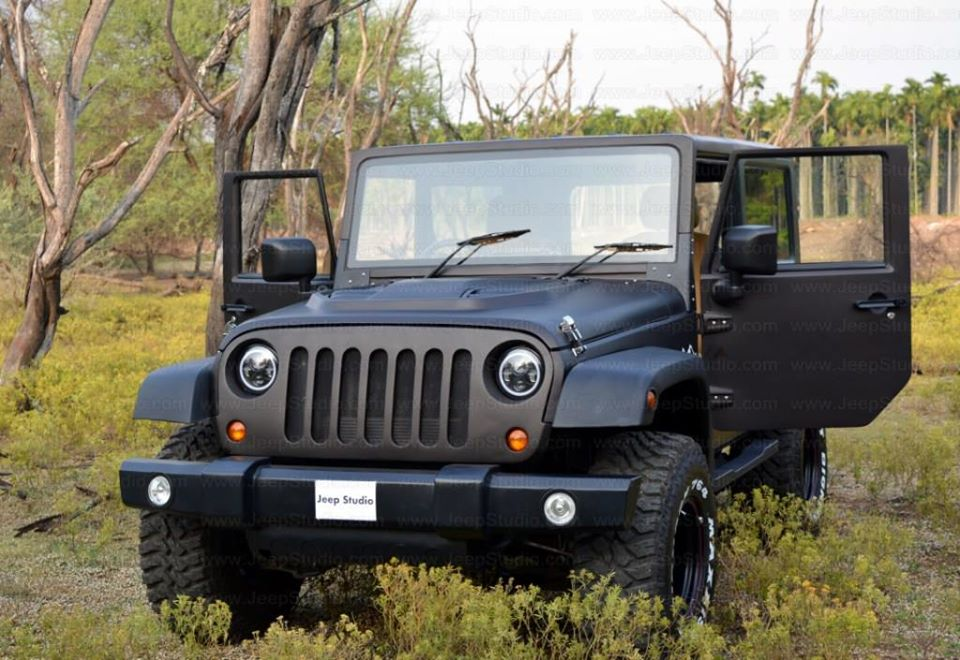 Mahindra Thar to Jeep Wrangler Conversion - Price ...