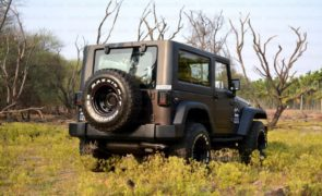 Mahindra Thar to Jeep Wrangler Conversion by Jeep Studio