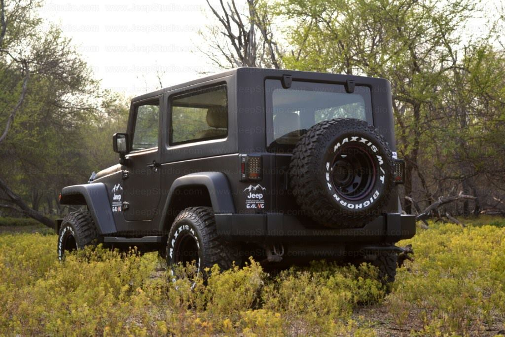 Jeep Thar Price >> Mahindra Thar to Jeep Wrangler Conversion - Price, Modifications, Images