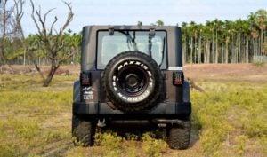 Mahindra Thar to Jeep Wrangler Conversion by Jeep Studio