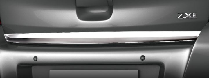 Maruti Celerio Limited Edition boot chrome image