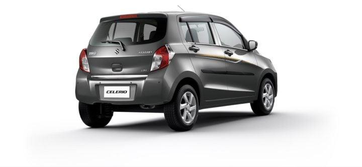 Maruti Celerio Limited Edition rear three quarters right side