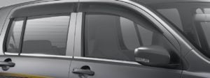 Maruti Celerio Limited Edition 2017 Features window visors chrome images