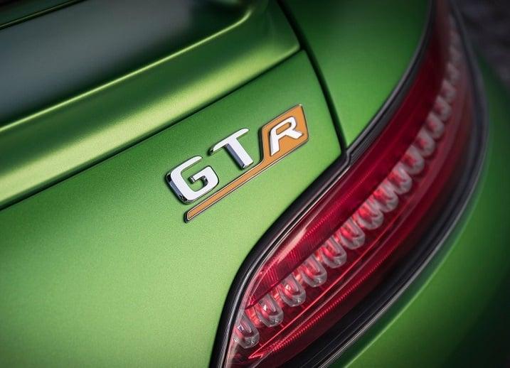 Fastest Car in India - Mercedes-AMG GT-R Badge