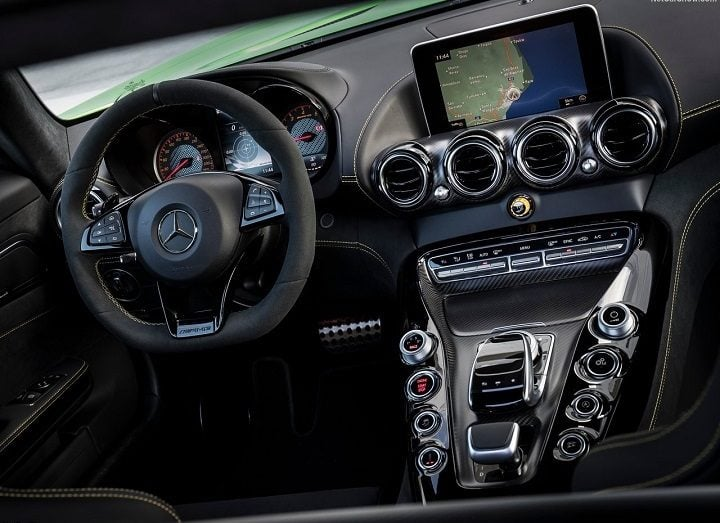 Fastest Car in India - Mercedes-AMG GT-R Interior