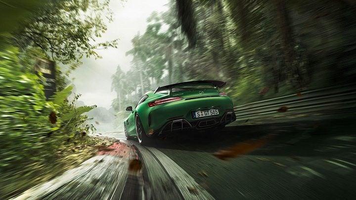 Fastest Car in India - Mercedes-AMG GT-R Rear