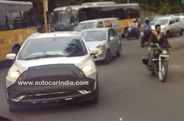 Ford Figo Facelift Spotted Testing, India Launch Likely In 2018