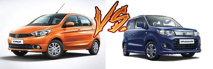 Tata Tiago AMT vs Maruti WagonR AMT