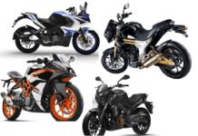 fastest bikes under 2 lakh rupees