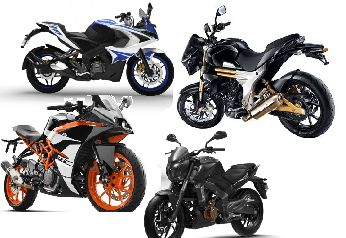 Fastest bikes under 2 lakh rupees in India