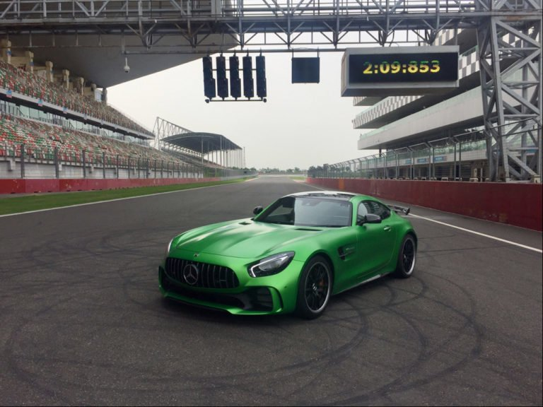 Mercedes-AMG GT-R, the Quickest Car Around BIC, Launched in India!