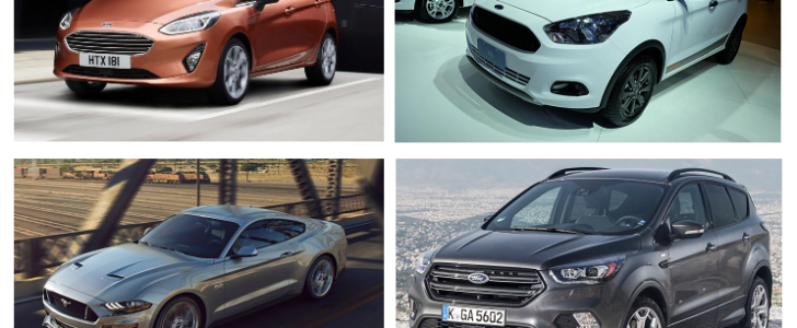 ford cars at auto expo 2018