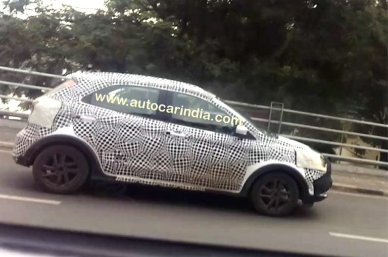 Ford Figo Cross Spied Testing; Auto Expo 2018 Debut Likely