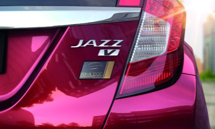 honda jazz privilege special edition badge